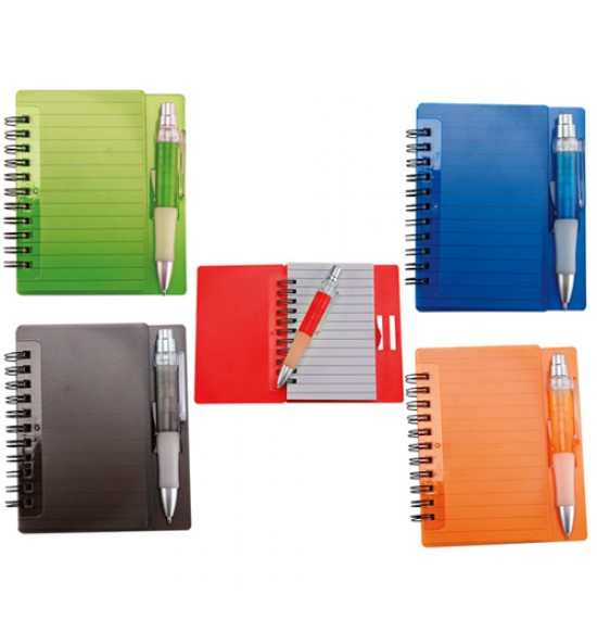 LIBRETA FUN-WORK COLOR AZUL